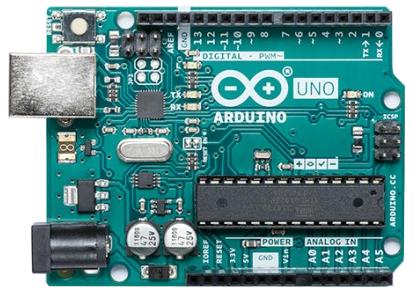 Placa de Arduino UNO.
