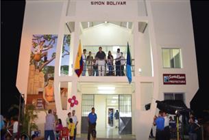 nuevo centro comunitario Simón Bolívar.