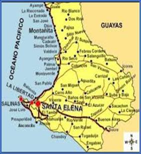 mapa donde se divisa la parroquia S.B